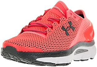 Under Armour Womens Speedform Gemini 2.1 Running Trainers 1288354 Sneakers Shoes (UK 4.5 US 7 EU 38, Black White Orange 819)