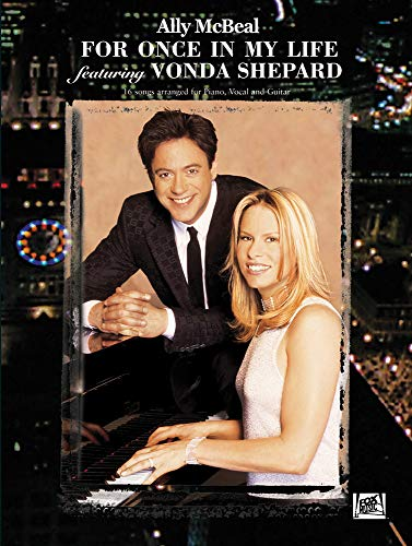 Ally mcbeal: for once in my life featuring vonda shepard piano, voix,...