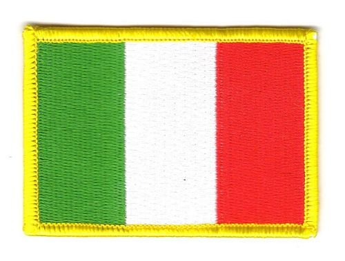 Flaggen Aufnäher Patch Italien Fahne Flagge NEU