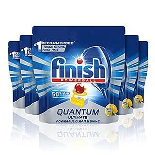 Finish Quantum Ultimate Dishwasher Tablets, Lemon, 50x5 Pack (B092VSM4TX)   Amazon price tracker / tracking, Amazon price history charts, Amazon price watches, Amazon price drop alerts