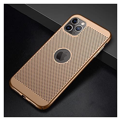 Funda Ultra Slim Thone para iPhone 11 12 Pro MAX SE 2020 6 6S 7 8 Plus 5 5S SE X XS XR MAX Disipación de Calor Hueco Duro Ordenador Personal Cubrir