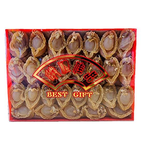 Dried Seafood Supreme Dalian Abalone (8Oz. Gift Box) (Medium Size)