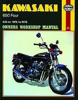 1976-1978 Kawasaki Z650 KZ650 Z KZ 650 HAYNES REPAIR MANUAL