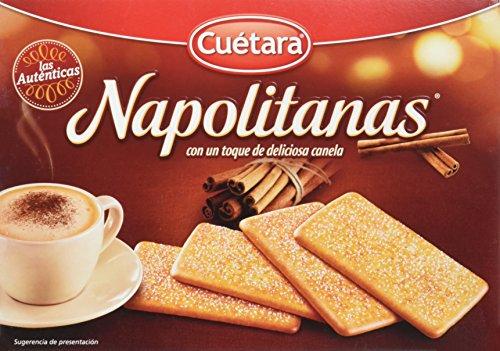 Cuétara - Napolitanas - Con un toque de deliciosa canela