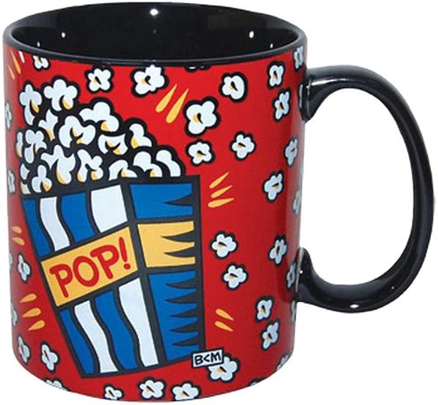 Westland Giftware 4 Inch Burton Morris Popcorn Stoneware Mug 14 Ounce