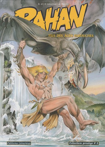 Rahan, Tome 5 (Noir et blanc): La horde des bannis ; La légende de la grotte de Niaux