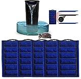 LONDAFISH 5 esponjas de repuesto para filtro de tortuga, filtro sumergible de agua para tanque de tortugas