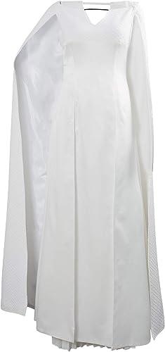 Huiyemy Got Game of Thrones Staffel 5 S5 Daenerys Targaryen Cosplay Kostüm Kleid Damen Weiß L