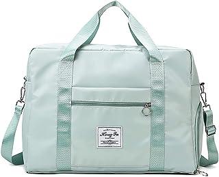 LCAWEI lichtgewicht reisplunjezak met natte zak en schoenenvak voor dames - 31,58LGrote capaciteit sporttas voor dames, Gr...