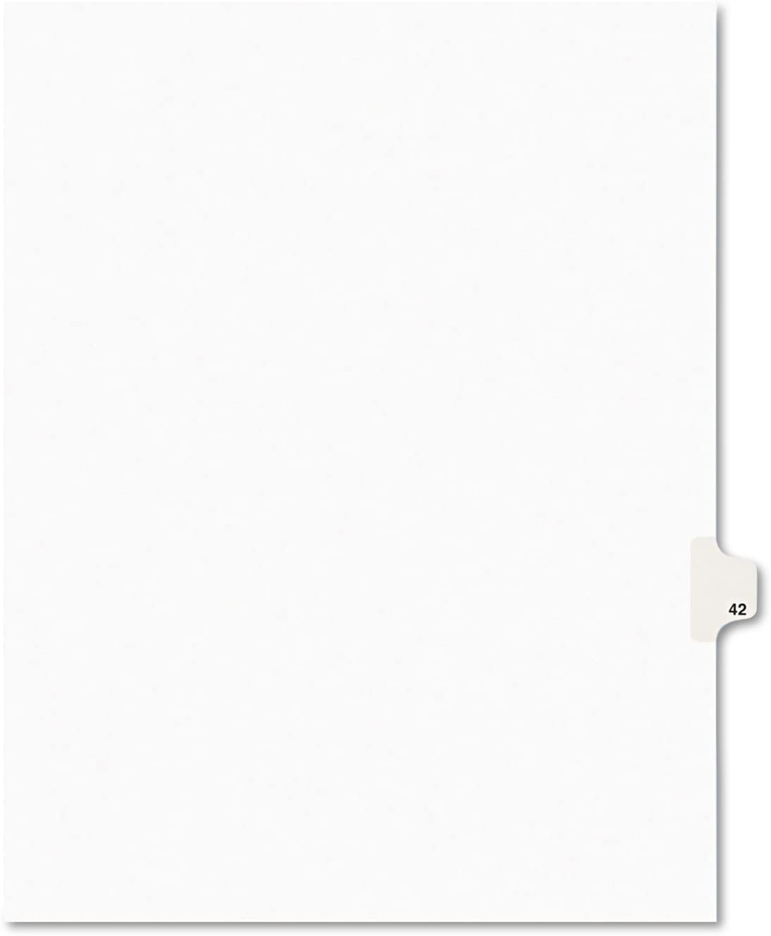 AVE01042 - Avery-Style Legal Max 79% OFF Divider Super Special SALE held Tab Side