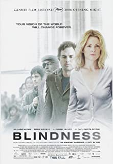 Blindness Movie Poster (27 x 40 Inches - 69cm x 102cm) (2008) Style B -(Mark Ruffalo)(Julianne Moore)(Gael Garcia Bernal)(Sandra Oh)(Danny Glover)