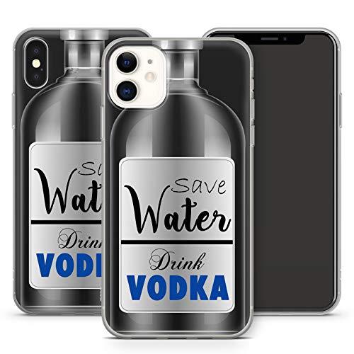 Handyhülle Bier für iPhone Apple Silikon MMM Berlin Saufen Vodka Party Alkohol Spruch Sprüche, Kompatibel mit Handy:Apple iPhone 8 Plus, Hüllendesign:Design 6   Silikon Klar