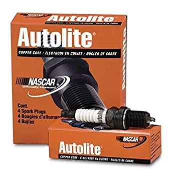 Autolite 124-4PK Copper Resistor Spark Plug Pack of 4