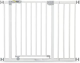 Hauck Open'N Stop Safety Gate 75 to 80 cm with 21 cm Extension, White, 597231
