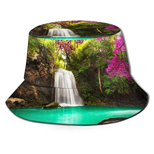 XCNGG Hermosa Cascada en el Bosque Tropical Mujeres Hombres
