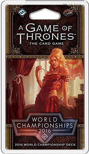 Fantasy Flight Games FFGCHP05 WM 2016 Joust Deck: A Game of Thrones LCG 2nd Edition, Mehrfarbig