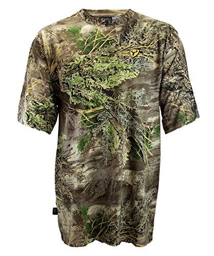 Scent Blocker Cotton Short Sleeve T Shirt Shield Series, Lightweight Odor Control, Men - XL - Max1 Xt