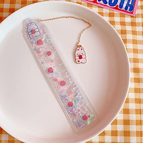 xiangwang Linda regla multifuncional de 15 cm, herramienta de dibujo para regalo, suministros de papelería escolar, color 202101061