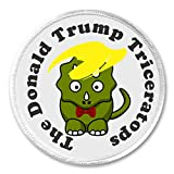 A&T Designs The Donald Trump Triceratops 3' Sew On Patch Toupee Humor President