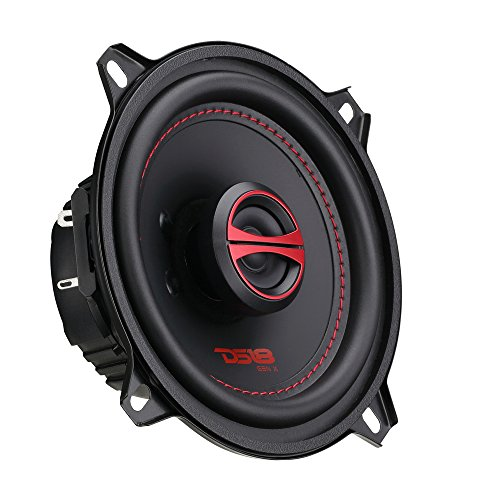 """Price comparison product image DS18 GEN-X5.25 Coaxial Speaker - 5.25"""",  2-Way,  135W Max,  45W RMS,  Black Paper Cone,  Mylar Dome Tweeter,  4 Ohms - Clarity Unparalled by Other Speakers in Their Class (2 Speakers)"""