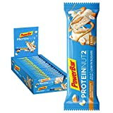 PowerBar Protein Nut2 White Choco Almond 18x(2x22,5g) - High Protein Low Sugar Riegel