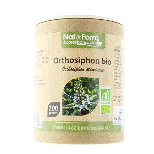 Nat & Form - NAT&FORM ORTHOSIPHON BIO 200 GELULES