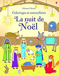 La nativité - Coloriages et autocollants
