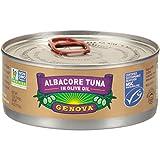 Genova Solid Albacore Tuna In Olive Oil 5 oz., 12 per case