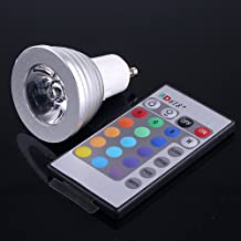 Gecheer RGB LED Light Bulb