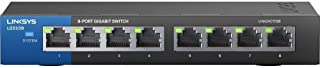 Linksys Unmanaged Gigabit Ethernet 8 Switch - LGS108-ME-RTL
