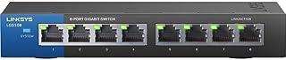 لينكسيس جهاز تحويل الشبكة ايثرنت جيجابيت الغير مدارة 8 مخارج