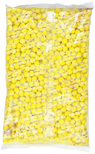 Sweetworks Sixlets, Golden Yellow, 2 Pound