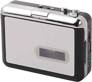 Portable USB Cassette Player, Mp3 Converter Capture Audio Music Recorders Convert Walkman Tape Hi-Fi Old to Player