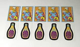 Lot of (5) 2001 Inkworks Simpsons Mania! Promo Card Set (2) Nm/Mt