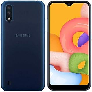 """Samsung Galaxy A01 (SM-A015F/DS), 16 GB, 2 GB de RAM Dual SIM, Pantalla de 5,7"""", gsm Desbloqueado, Color Azul"""