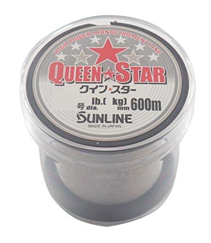 サンライン(SUNLINE) ナイロンライン クインスター 600m 0.8号 クリアー