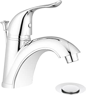 Pacific Bay Quincy Bathroom Faucet with Pop-up (Chrome)