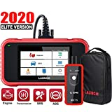 LAUNCH Scan Tool- CRP123E OBD2 Scanner for Engine Transmission ABS SRS (Airbag) Code Reader Car Diagnostic Tool,Android 7.0 Wi-Fi One-Click Free Update,2020 Upgrade Version of CRP123- TPMS EL-50448