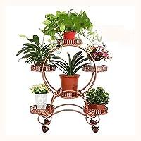 フラワー スタンド ガーデニングラック植物 スタンドおしゃれ フラワー スタンド植物 スタンド-80cm,Brown
