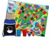 Drink or Swim - Life size strategy party board game for 4 to 20 people. Survivor themed party game for any event.