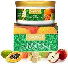 Glamorous Hub - Vaadi Herbals Fresh Fruit Massage Cream with Apple, Orange, Papaya & Kokum Butter