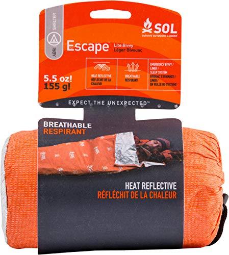 S.O.L. Survive Outdoors Longer S.O.L. 70% Reflective Emergency Escape Lite Bivvy