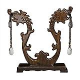 UPANV Soporte De Exhibición De Joyería De Madera Feng Shui Soporte De Decoración del Hogar De Estilo Chino para Collar Colgante