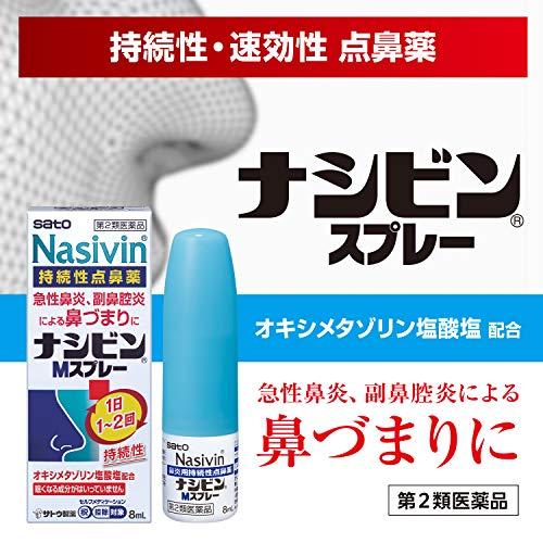 佐藤製薬『ナシビンMスプレー』