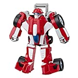 Transformers Playskool Heroes Rescue Bots Academy Heatwave The Fire-Bot Converting Toy, 4.5' Action Figure, Toys for Kids Ages 3 & Up