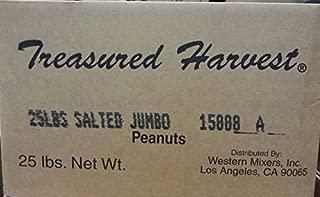 Roasted & Salted Jumbo Peanuts - 25 lb. Box