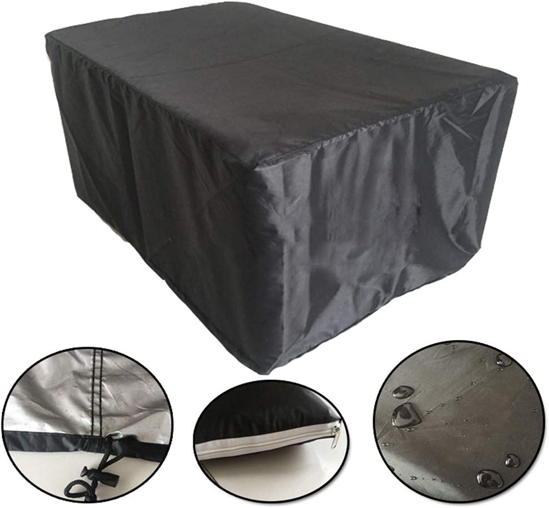 Z&YY Black Outdoor Garden Furniture Cover Garden dustproof Waterproof Table Cover