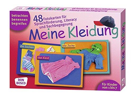Meine Kleidung. 48 Fotokarten für Sprachförderung, Literacy und Sachbegegnung. 48 Fotokarten mit Begleitheft. Betrachten. Benennen. Begreifen. Für Kinder von 1 bis 7.