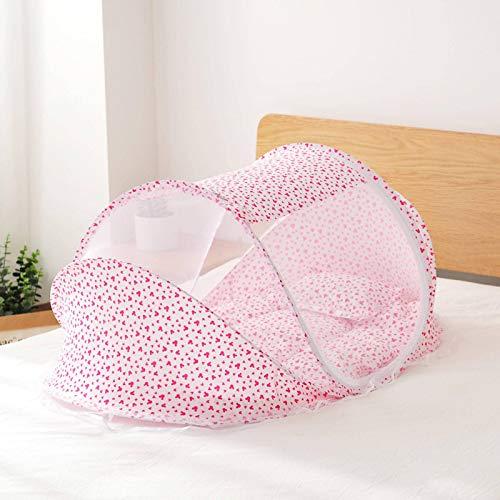 Cuna plegable cama de bebé mosquitero para niños y niñas portátil cuna recién nacidos cama para dormir