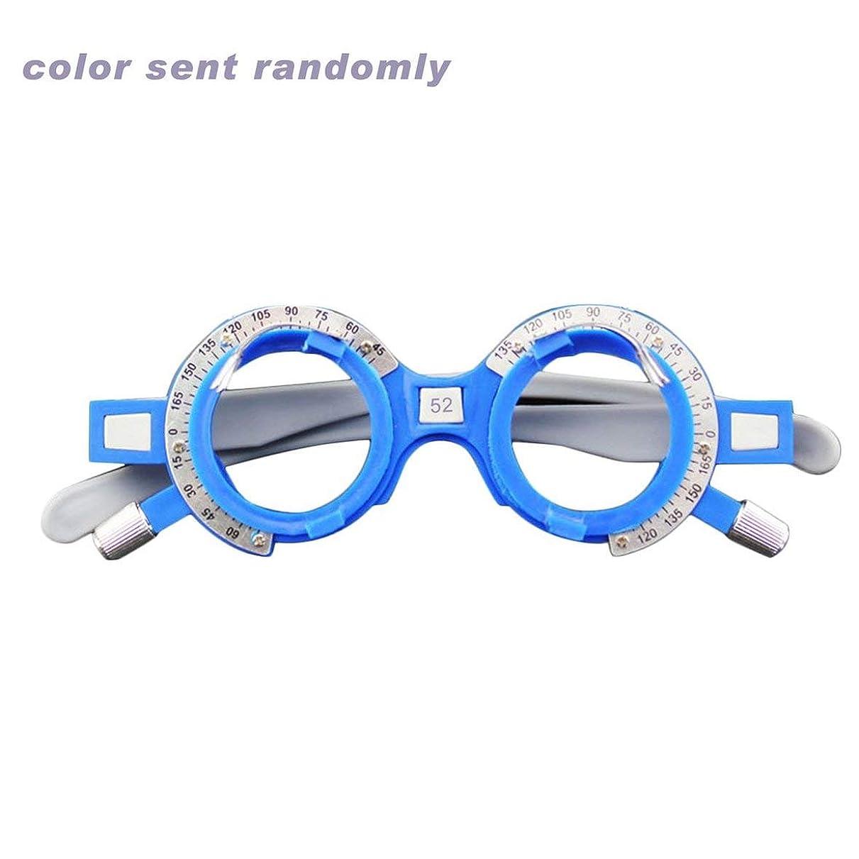 麺放置モッキンバードBlackfell 調節可能な光学トライアルレンズフレーム52-70mm PDアイ検眼眼鏡技師プラスチック眼鏡フレーム眼鏡アクセサリー